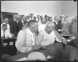 Clarence Darrow and William Jennings
